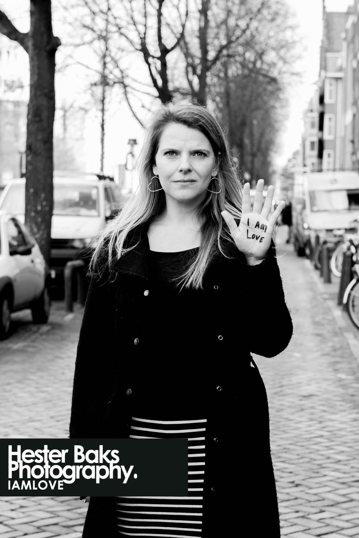 I AM LOVE by Helene Bakker