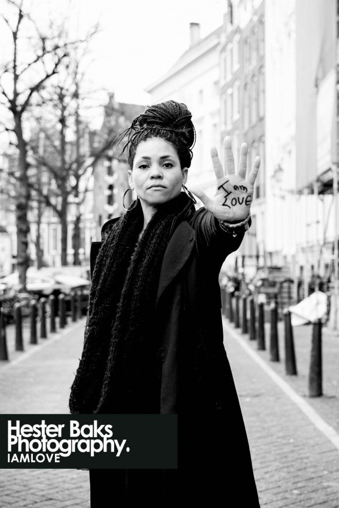 Portrait in Amsterda for I AM LOVE by Thirza Stewart
