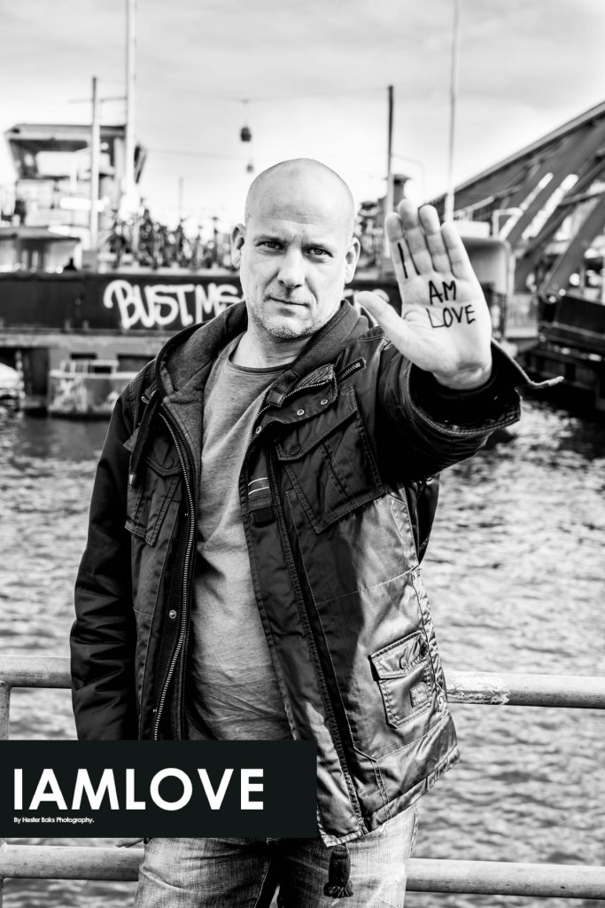portrait of Eric Boer for I AM LOVE. JOIN THE LOVE REVOLUTION!! @ www.facebook.com/iamlove2015 LOVE begins with yourself. Let's spread love instead of fear, Let us love ourselves so we can love others... Like share and care!! We can make the world al little better together