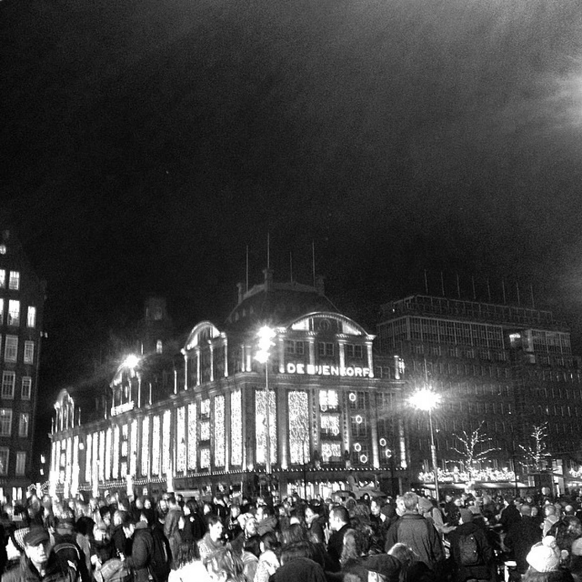 #demonstration #charliehebdo #amsterdam #damsquare #iphonephotography