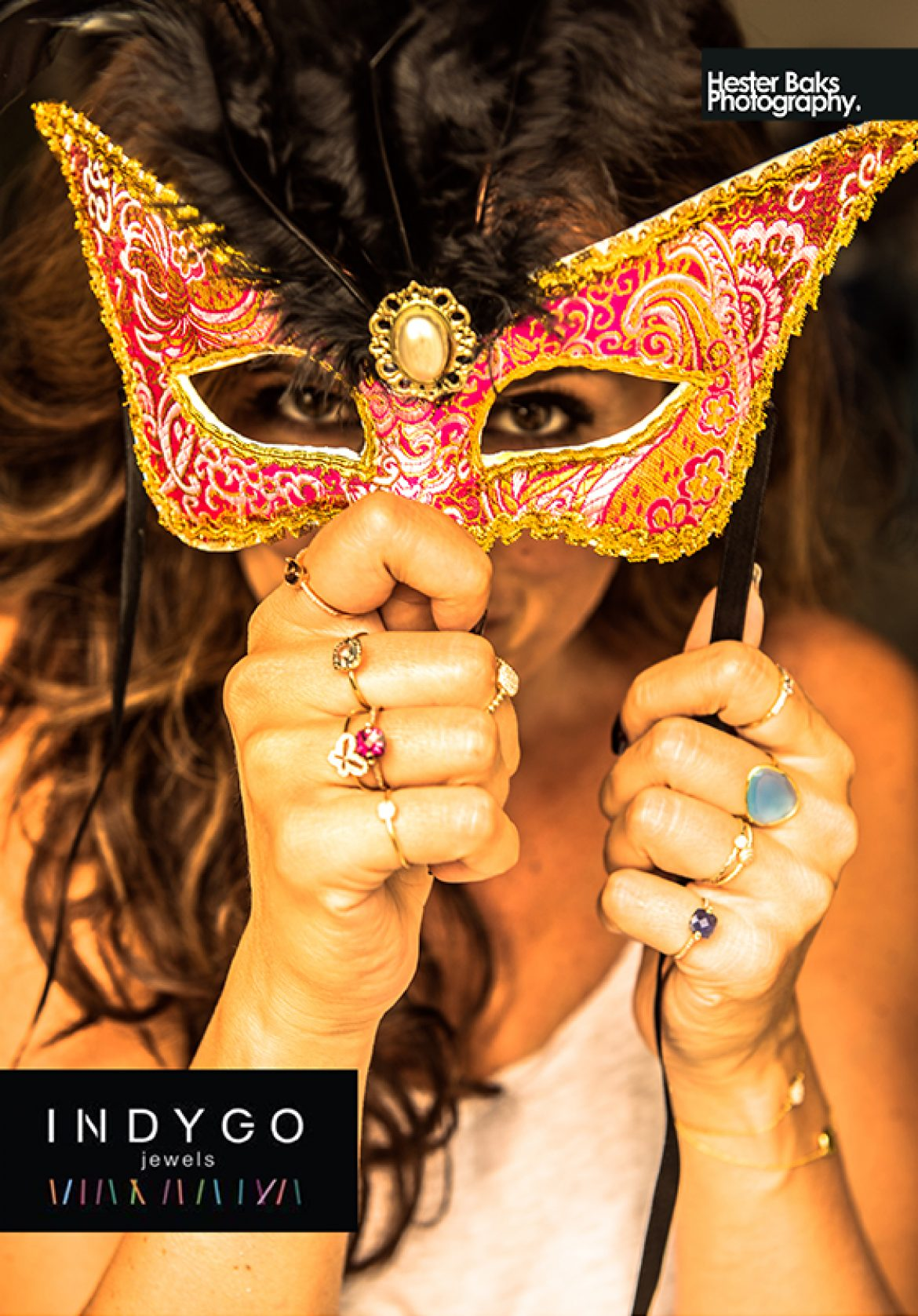 #IndygoJewels #Brochure #cover #HesterBaksPhotography
