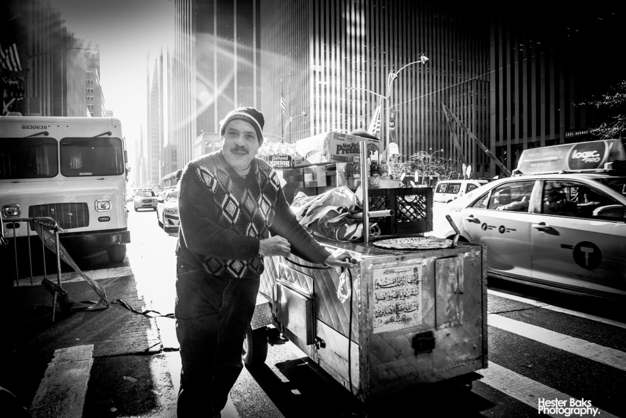 Hot dog man by Hester Baks Photography